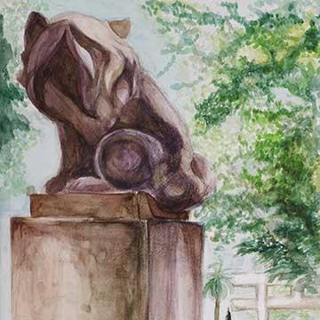 高校2年生 風景画